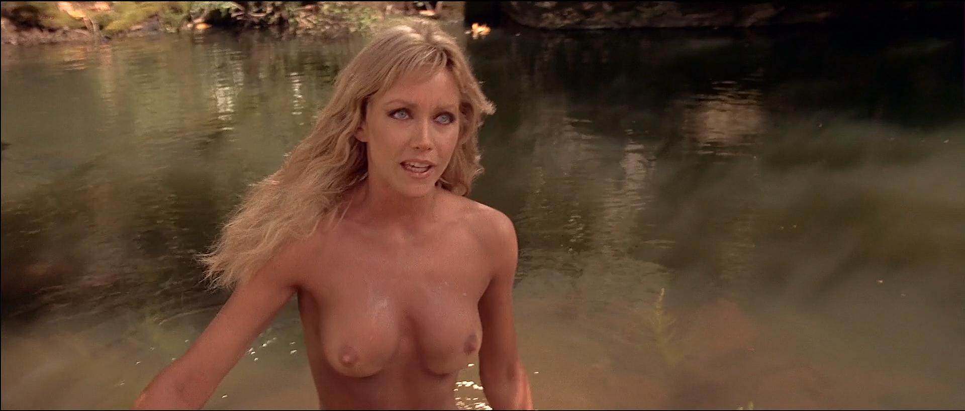 Tanya Roberts nude topless butt and France Zobda nude butt - Sheena (1984) HDTV 1080p (7)