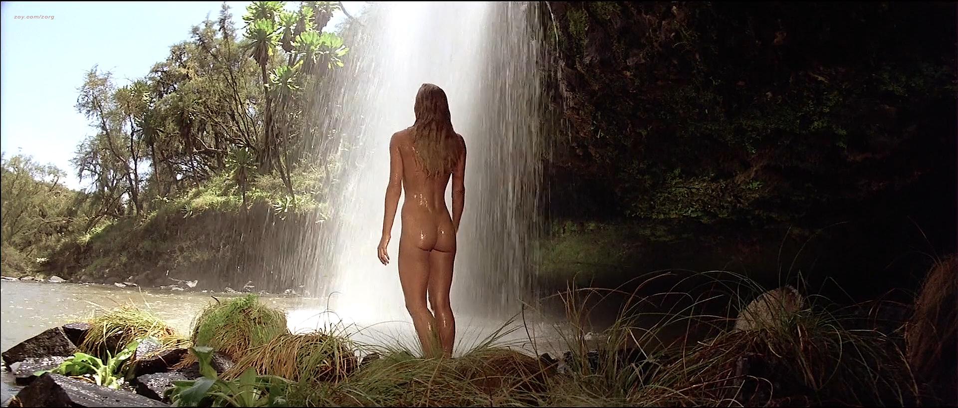 Tanya Roberts nude topless butt and France Zobda nude butt - Sheena (1984) HDTV 1080p (6)