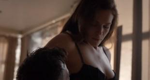 Amanda Righetti nude but covered and some sex – Colony s01e07 (2016) HD 1080p (5)