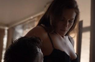 Amanda Righetti nude but covered and some sex – Colony s01e07 (2016) HD 1080p