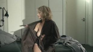 Laure Marsac nude brief topless and sexy in lingerie - Entre vents et marees (FR-2014) s1e2