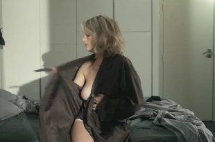 Laure Marsac nude brief topless and sexy in lingerie – Entre vents et marees (FR-2014) s1e2