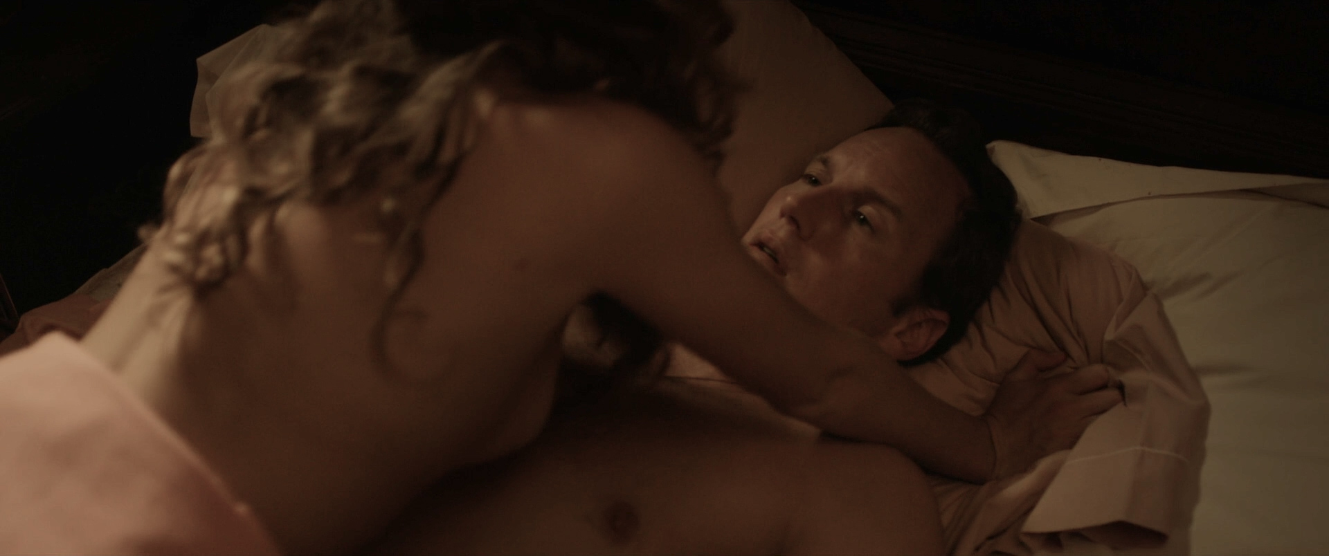 Lili Simmons nude and sex riding a dude - Bone Tomahawk (2015) HD 1080p BluRay (4)