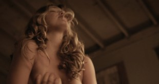 Lili Simmons nude and sex riding a dude - Bone Tomahawk (2015) HD 1080p BluRay (3)