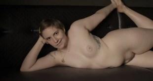 Lena Dunham nude bush topless and some sex - Girls (2016) s5e3 HD 720p (4)