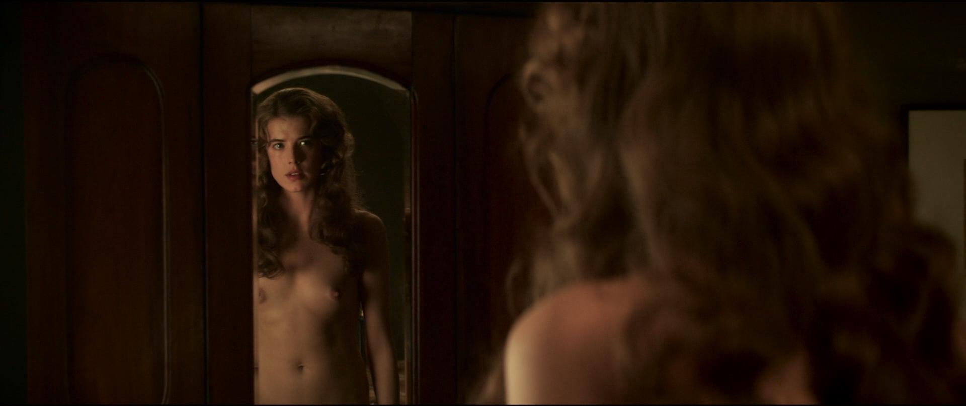 Agyness Deyn nude bush, full frontal and sex - Sunset Song (UK-2015) HD 1080p BluRay (5)