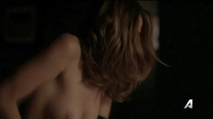 Ashley Greene nude topless and sex - Rogue (2016) S04E05 HDTV 720p (7)