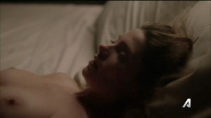 Ashley Greene nude topless and sex - Rogue (2016) S04E05 HDTV 720p (9)