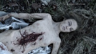 Casey LaBow nude sex and Lili Simmons nude and dead - Banshee (2016) S04 E01 1080p