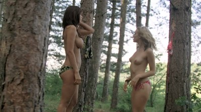 acey Barnfield nude butt topless Angelica Penn nude too - Lake Placid 3 (2010) hd 720p (6)