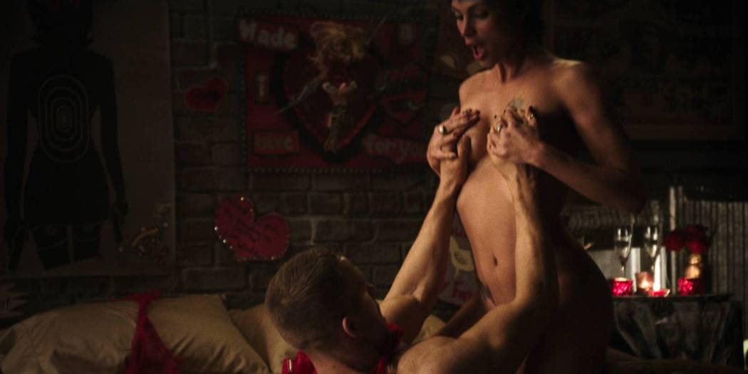 Morena Baccarin hot sex and uber sexy - Deadpool (2016) HD 1080p (12)