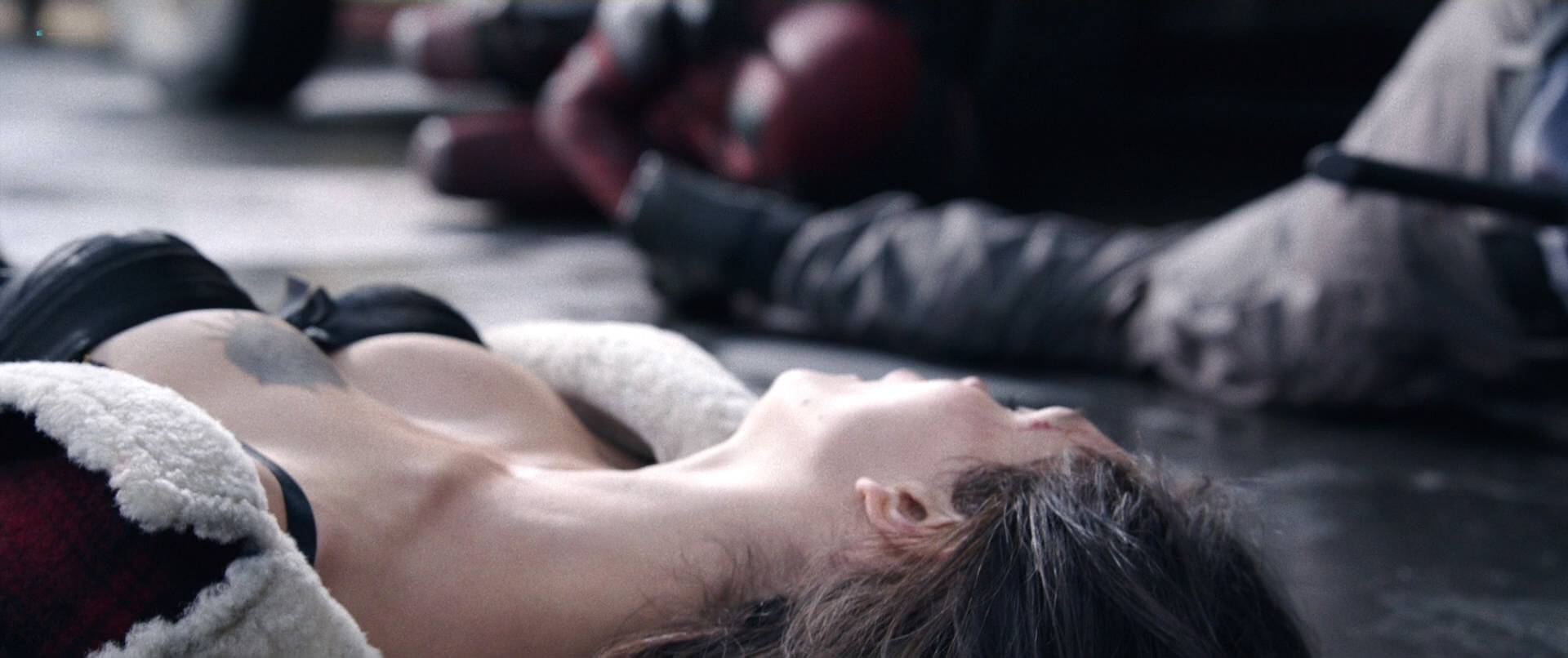 Morena Baccarin hot sex and uber sexy - Deadpool (2016) HD 1080p (2)
