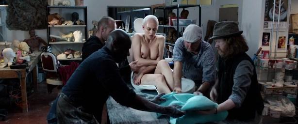 Olga Kurylenko nude topless and butt - La Corrispondenza (IT-2016) HD 1080p BluRay 5