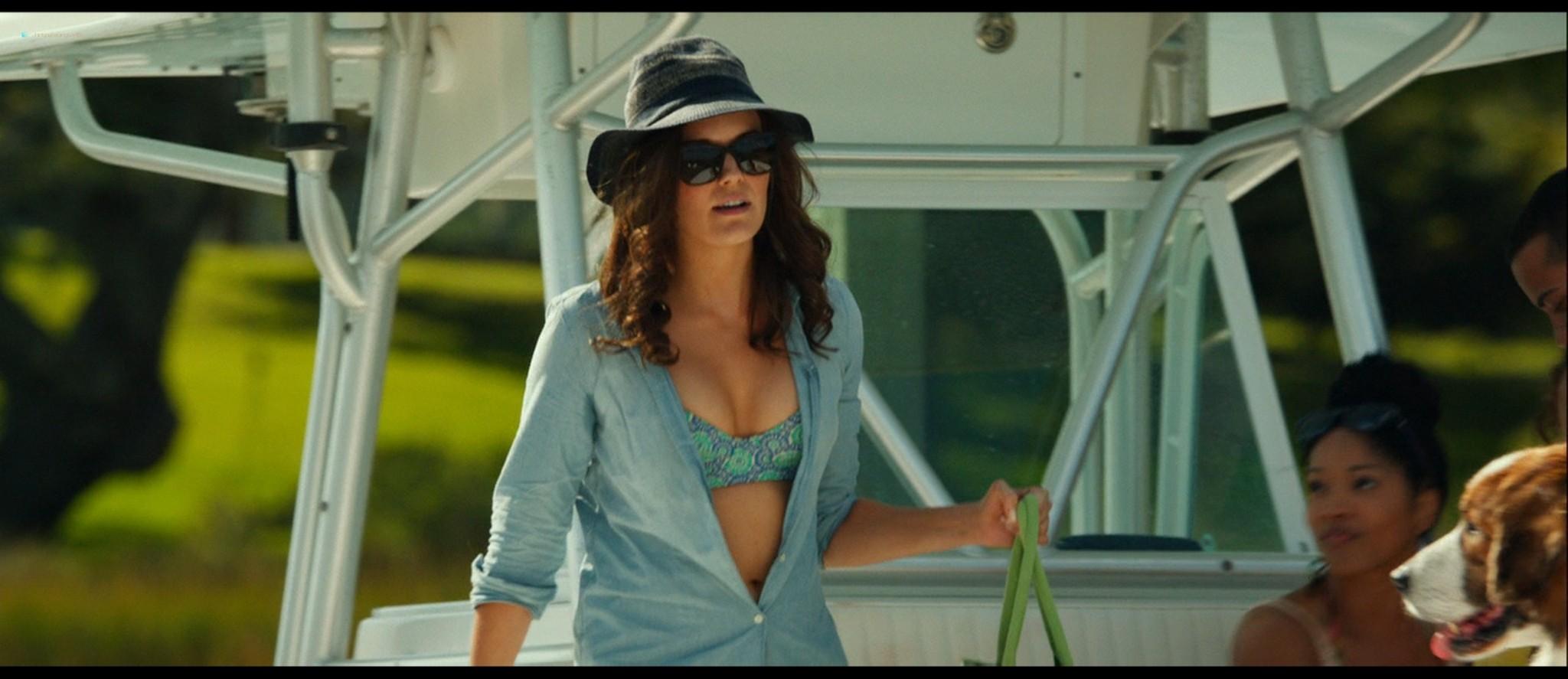 Teresa Palmer hot bikini and Maggie Grace, Alexandra Daddario hot too - The Choice (2016) HD 1080p BluRay (15)