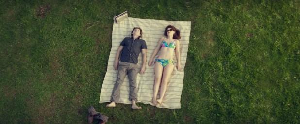 Zooey Deschanel hot bikini and Aubrey Plaza leggy - The Driftless Area (2015) HD 1080p WEB-DL (4)