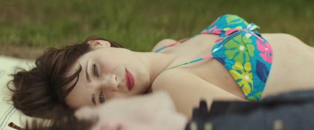 Zooey Deschanel hot bikini and Aubrey Plaza leggy - The Driftless Area (2015) HD 1080p WEB-DL (3)