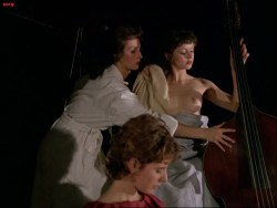 Isabelle Huppert nude, Myriem Roussel nude bush other's nude too - Passion (FR-1982) (6)