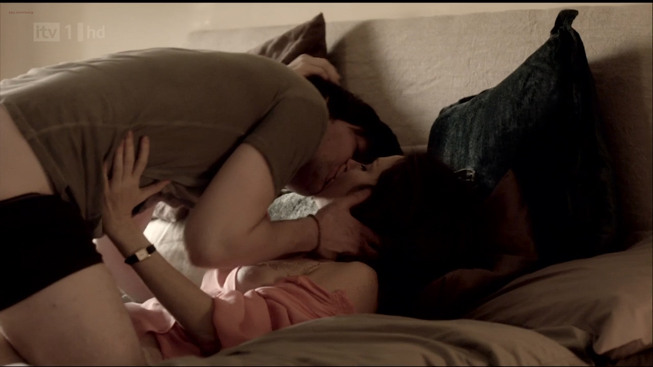Anna Friel hot sexy, sex and nipple slip - Without You S01 HDTV 720p (2)
