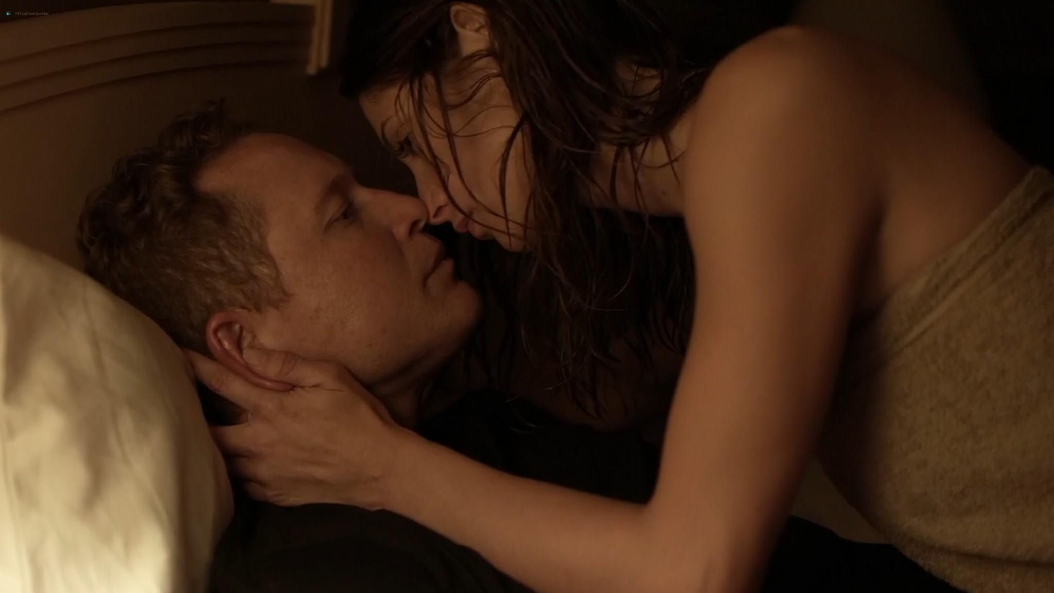 Ashley Greene nude topless riding a dude - Rogue (2016) s3e18 HD 1080p (10)