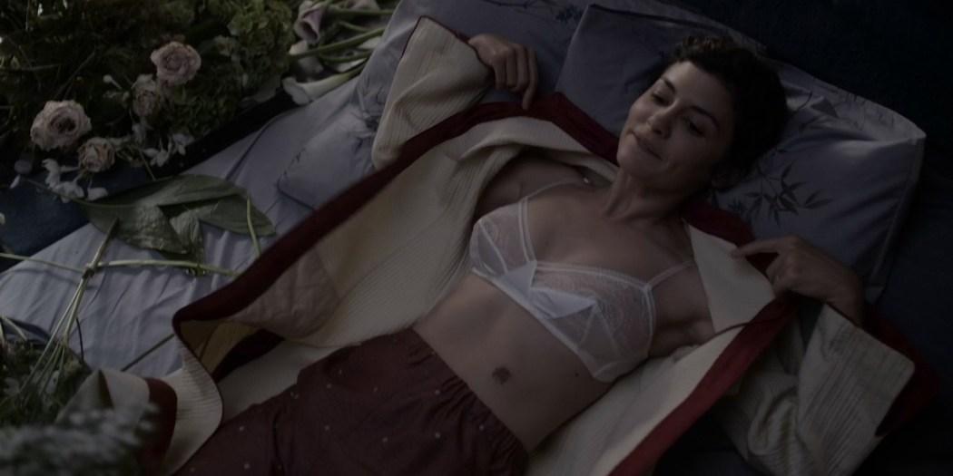 Audrey Tautou hot sexy see through - Mood Indigo (FR-2013) HD 1080p (2)