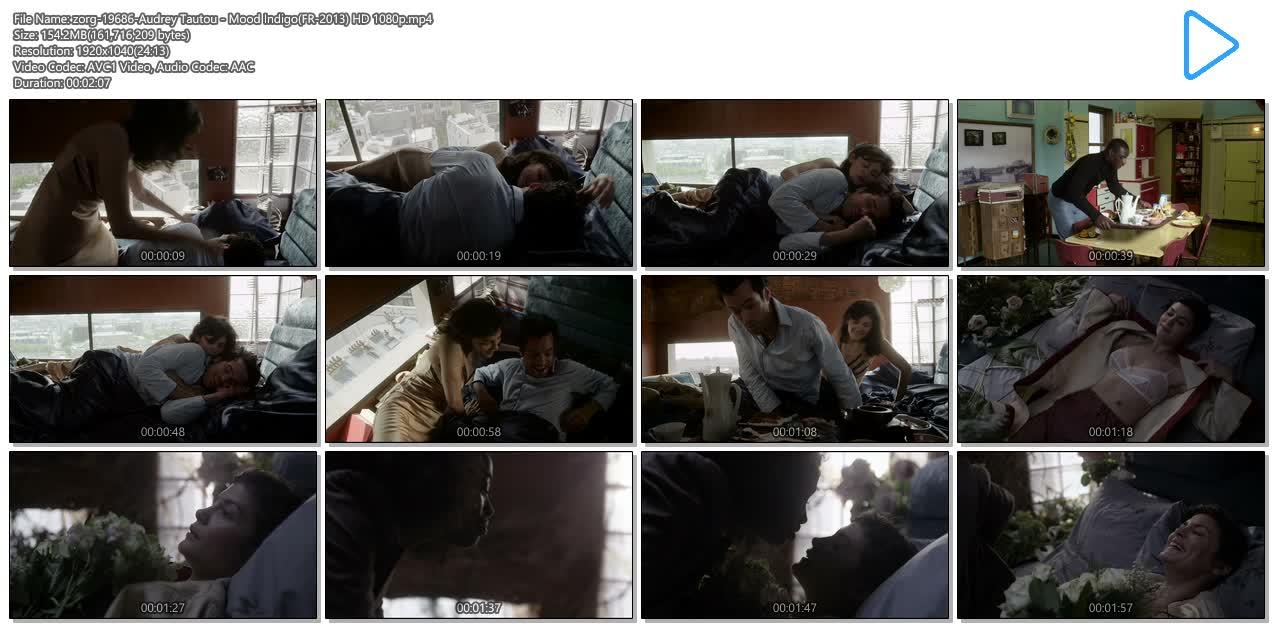 Audrey Tautou hot sexy see through - Mood Indigo (FR-2013) HD 1080p (5)