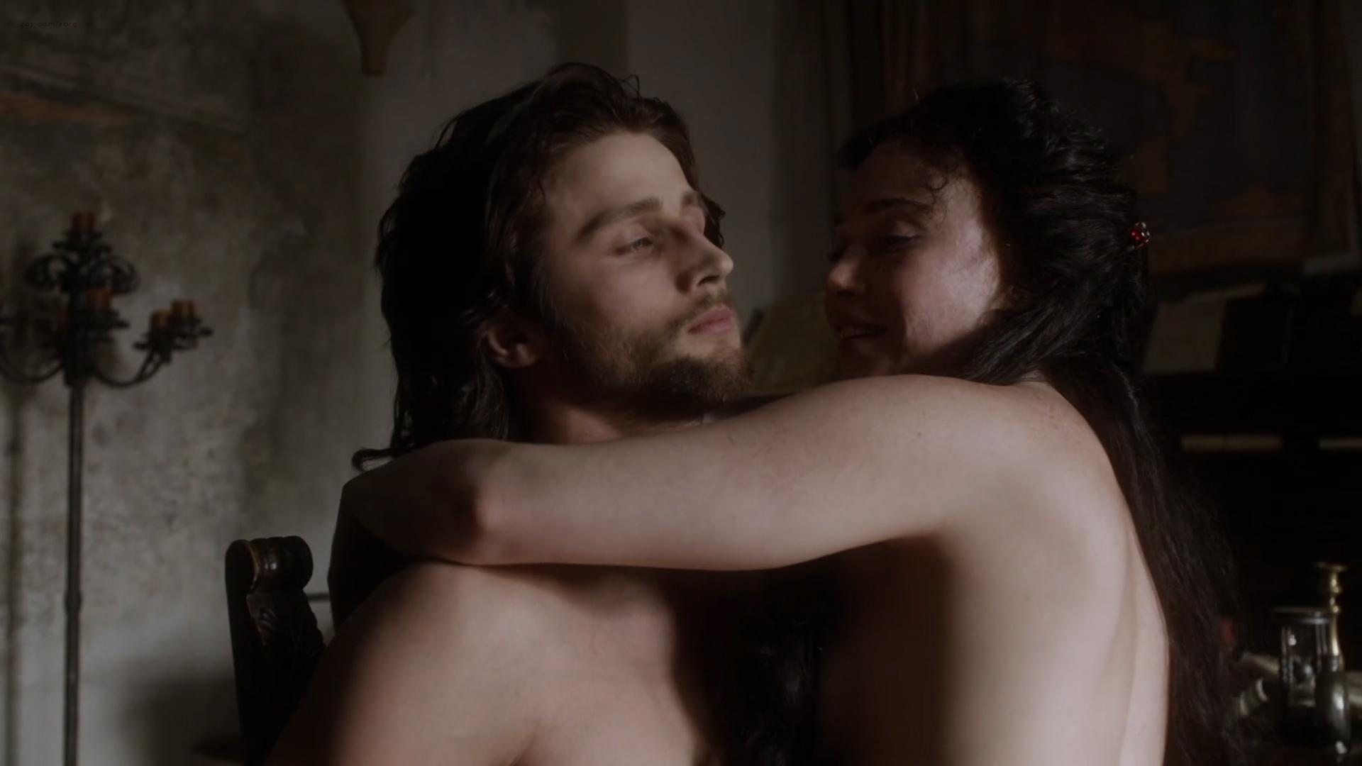 Daisy Lewis nude topless and sex - Borgia (2013) S02E01-02 HD 1080p (3)