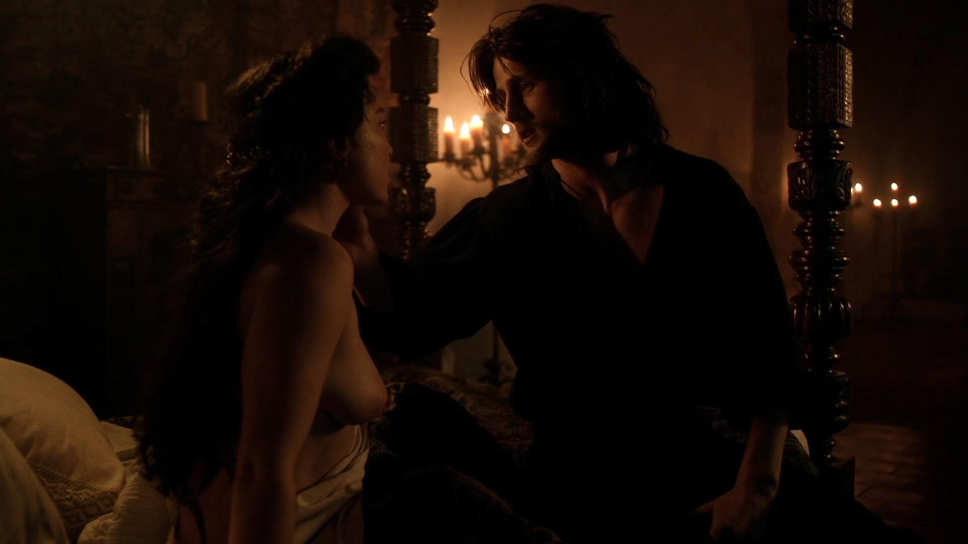 Daisy Lewis nude topless and sex - Borgia (2013) S02E01-02 HD 1080p (1)
