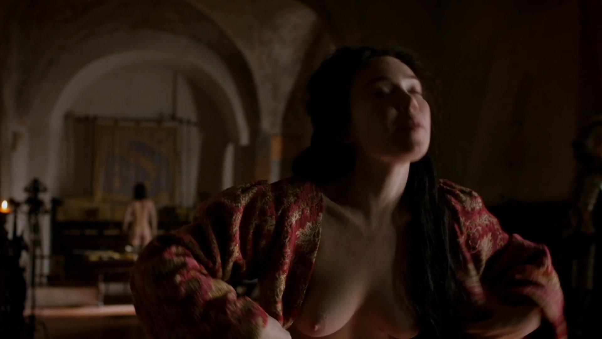 Daisy Lewis nude topless and sex - Borgia (2013) S02E01-02 HD 1080p (8)