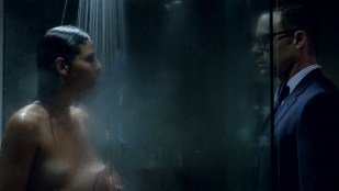 Eliza Dushku hot and bound and Ana Ayora nude topless in shower - Banshee (2016) s4e7 HD 1080p