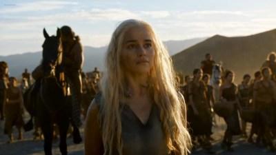 Emilia Clarke nude barley side boob – Game of Thrones (2016) s603 HDTV 1080p (3)