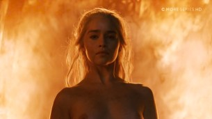 Emilia Clarke nude topless- Game of Thrones (2006) s6e4 HDTV 1080p (7)
