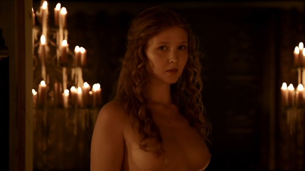 Isolda Dychauk nude topless and hot sex - Borgia (2013) S02 HD 1080p (2)