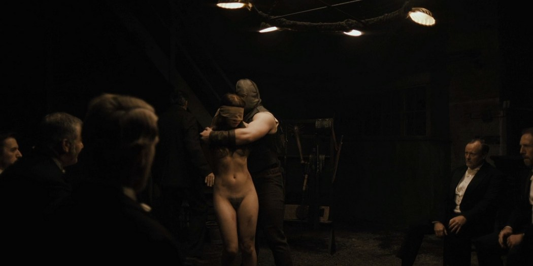 Jessica Barden nude full frontal, bush and boobs – Penny Dreadful s03e02 (2016) HD 1080p (6)