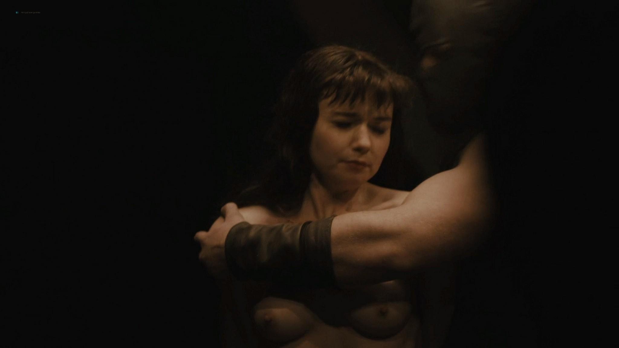Jessica Barden nude full frontal, bush and boobs – Penny Dreadful s03e02 (2016) HD 1080p (5)