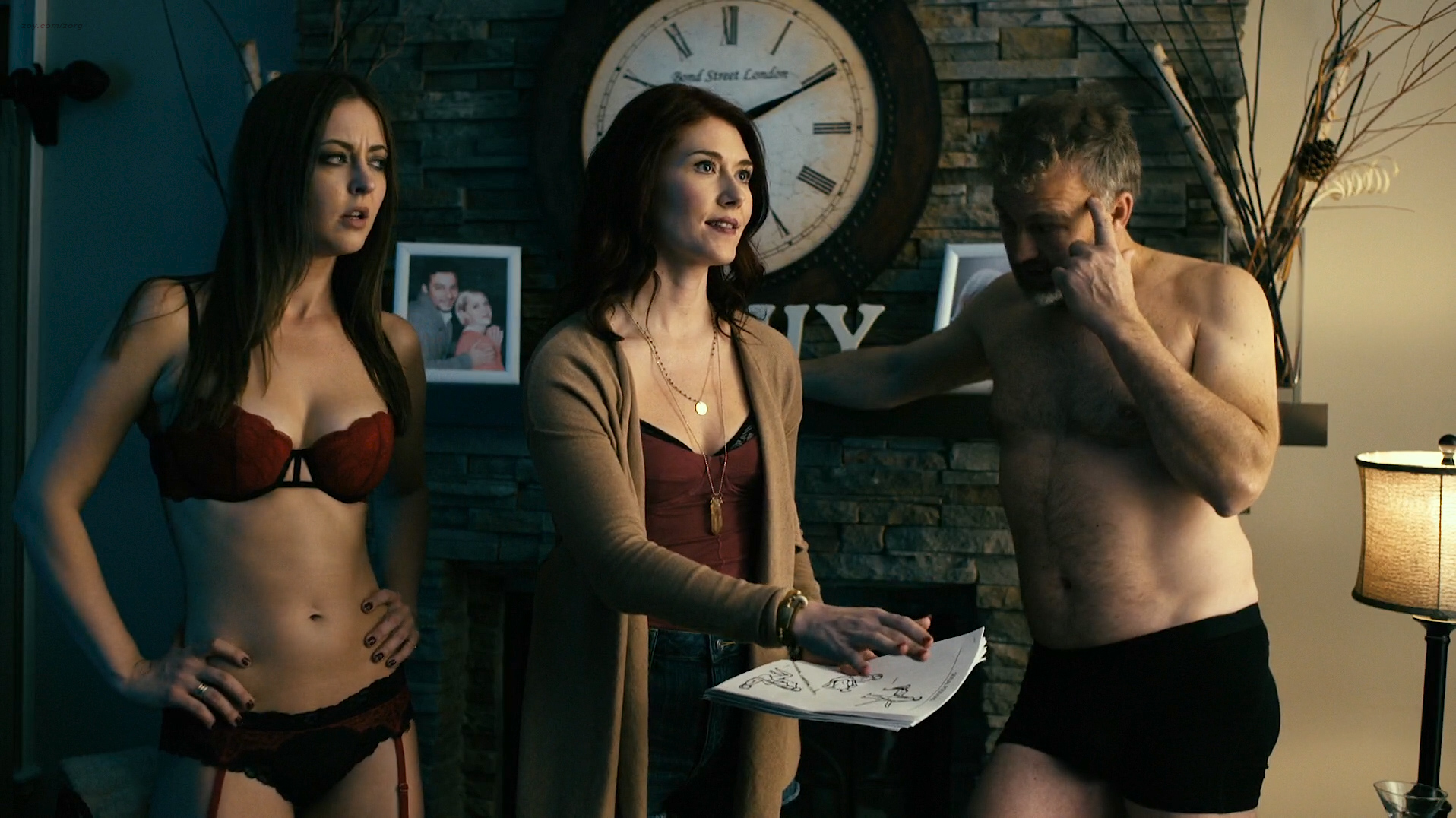 Lauren Lee Smith hot sex Jewel Staite hot Zoe Cleland nude and Katharine Isabelle - How To Plan An Orgy In A Small Town (CA-2015) HD 1080p WEB-DL (1)