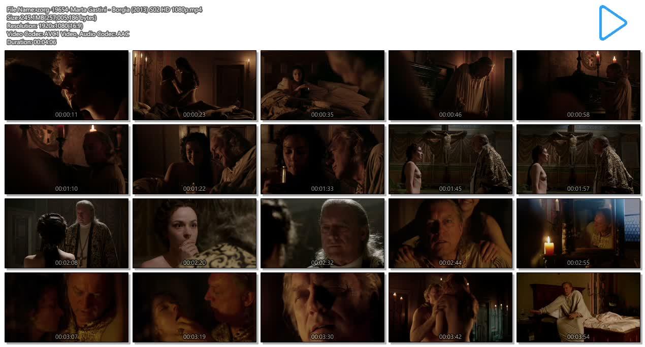Marta Gastini nude butt, boobs and sex - Borgia (2013) S02 HD 1080p (8)
