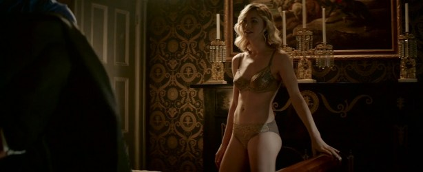 Yvonne Strahovski nude butt and boobs in hot sex scene - Manhattan Night (2016) HD 720-1080p Web-Dl (16)