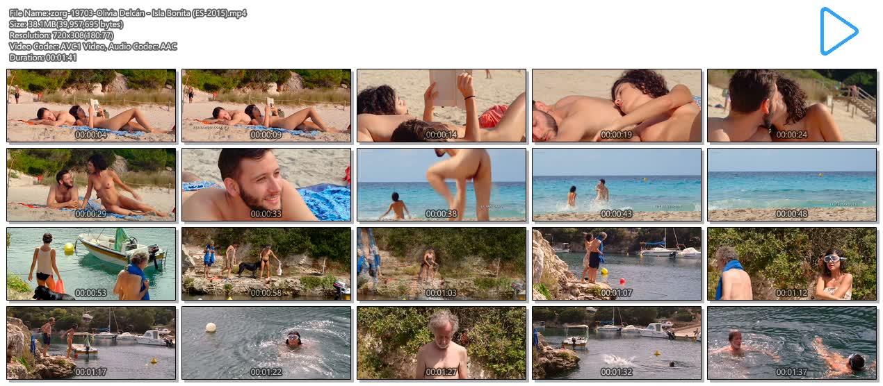 Olivia Delcán nude bush, butt and nude boobs - Isla Bonita (ES-2015) (9)