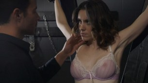 Ashlynn Yennie nude bush and bound Skiny Diamond nude sex Victoria Levine nude too - Submission (2016) s1e5 HDTV 720p (14)