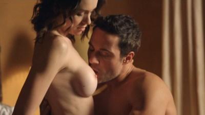 Ashlynn Yennie nude bush, bondage India Summer and Victoria Levine nude sex - Submission (2016) s1e6 HDTV 720p (11)
