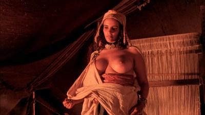 Debra Winger nude bush brief boobs and butt Amina Annabi nude topless- The Sheltering Sky (1990) HD 1080p BluRay (11)