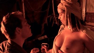 Debra Winger nude bush brief boobs and butt Amina Annabi nude topless- The Sheltering Sky (1990) HD 1080p BluRay (9)