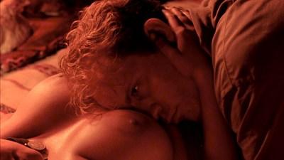 Debra Winger nude bush brief boobs and butt Amina Annabi nude topless- The Sheltering Sky (1990) HD 1080p BluRay (5)