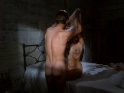 Joely Richardson nude bush, full frontal and lot of sex - Lady Chatterley (UK-1993) (15)