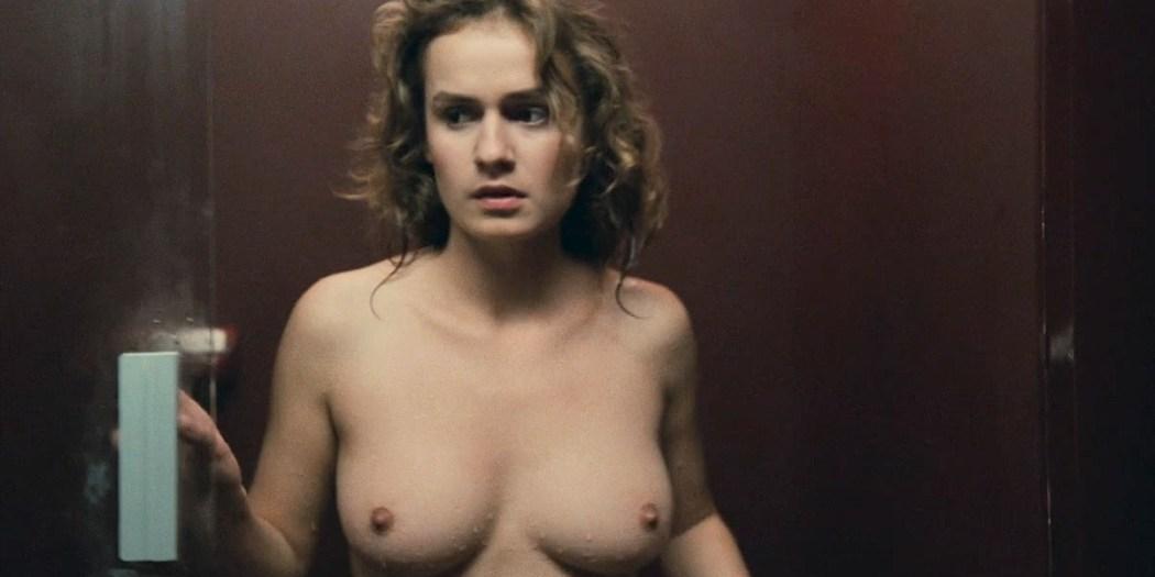 Sophie Marceau nude boobs and Sandrine Bonnaire nude bush full frontal - Police (FR-1985) HD 720p (2)