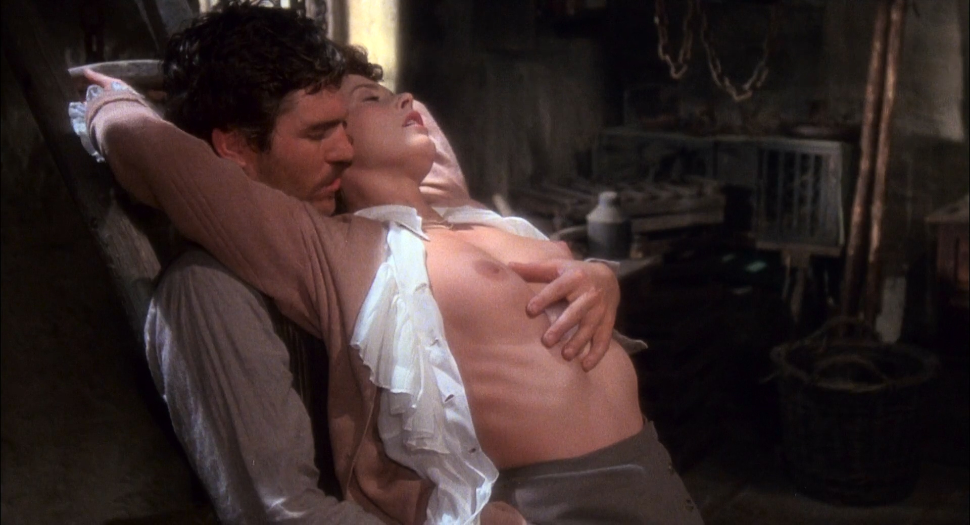 Sylvia Kristel nude full frontal, bush boobs and sex - Lady Chatterleys Lover (1981) HD 1080p BluRay (7)
