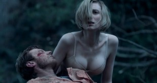 Elizabeth Debicki hot cleavage in bra some sex - The Kettering Incident (AU-2016) s1e3-4 HD 720p (9)