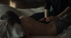 Ellen Page nude topless and Evan Rachel Wood nude in bath - Into the Forest (2015) HD 1080p Web-Dl (1)