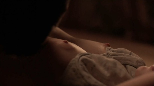 Kate Lyn Sheil nude topless and sex - Outcast (2016) s1e7 HD 1080p (5)