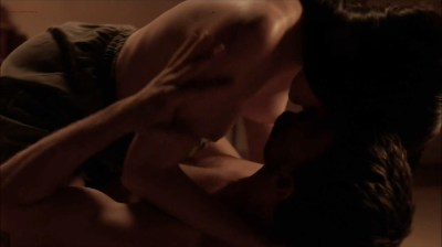 Kate Lyn Sheil nude topless and sex - Outcast (2016) s1e7 HD 1080p (1)